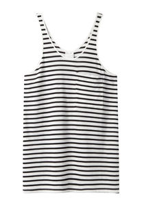 AR SRPLS / Striped Pocket Tank Top  |   La Garçonne