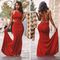 Mermaid red prom dresses, sexy prom dress, backless prom dress, dresses for prom, 2016 prom dress, 16176 from okbridal | lola monroe, red prom dresses and prom…