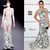 Nina Dobrev In Naeem Khan - 2013 Elton John AIDS Foundation Oscars Party » Red Carpet Fashion Awards