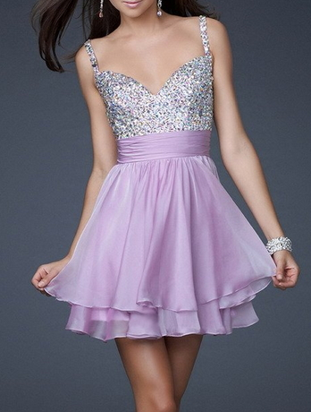 Short Evening Dress - Juicy Wardrobe