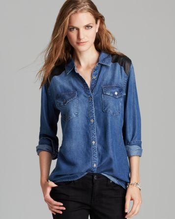 Rails Shirt - Ashlyn Chambray | Bloomingdale's