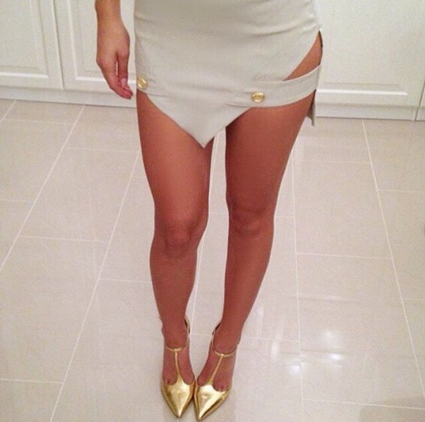 shoes skirt