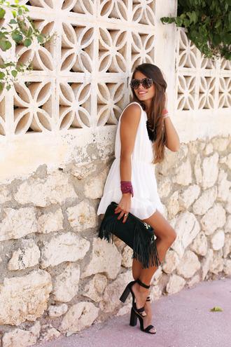 seams for a desire blogger jumpsuit shoes bag jewels t-shirt sunglasses