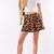 Cheetah Skater Skirt