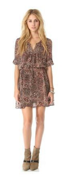 dress pattern sheer