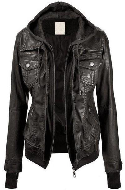 jacket black leather jacket layered leather jacket black leather black jacket