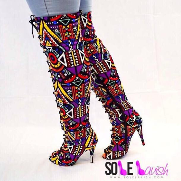 shoes multicolor