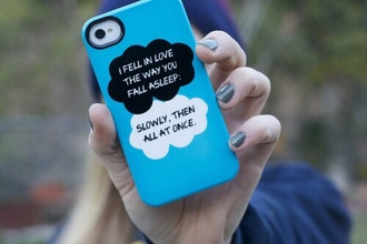 iphone iphone case iphone 5 case the fault in our stars book movie novel john green jewels