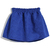 Falda bordada cintura alta-Azul