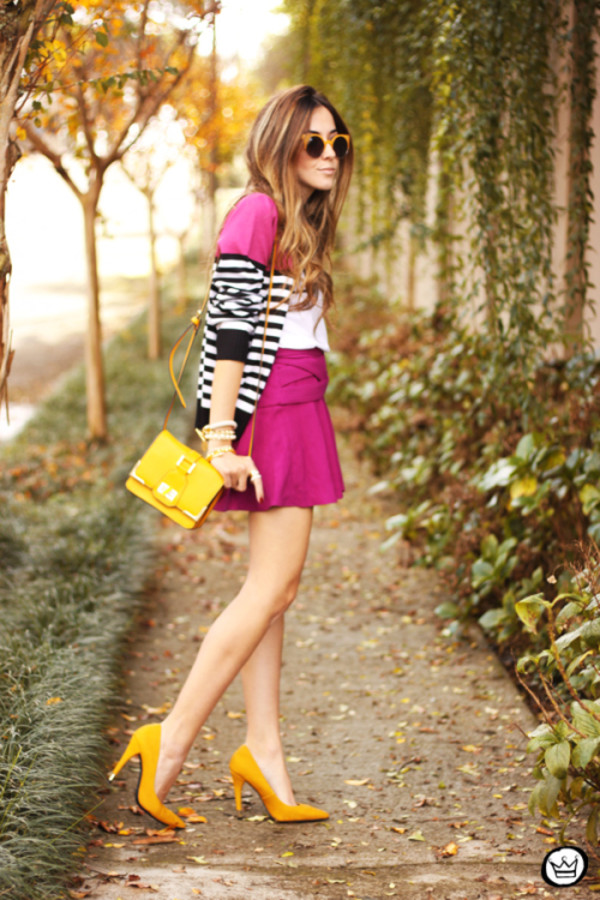 fashion coolture t-shirt cardigan skirt bag shoes