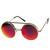Limited Edition Retro Round Circle Steampunk Revo Lens Flip Up Sunglas                           | zeroUV