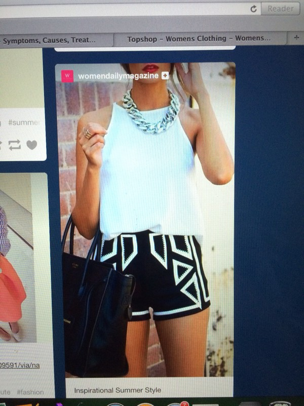 monochrome shorts black white summer outfits outfit