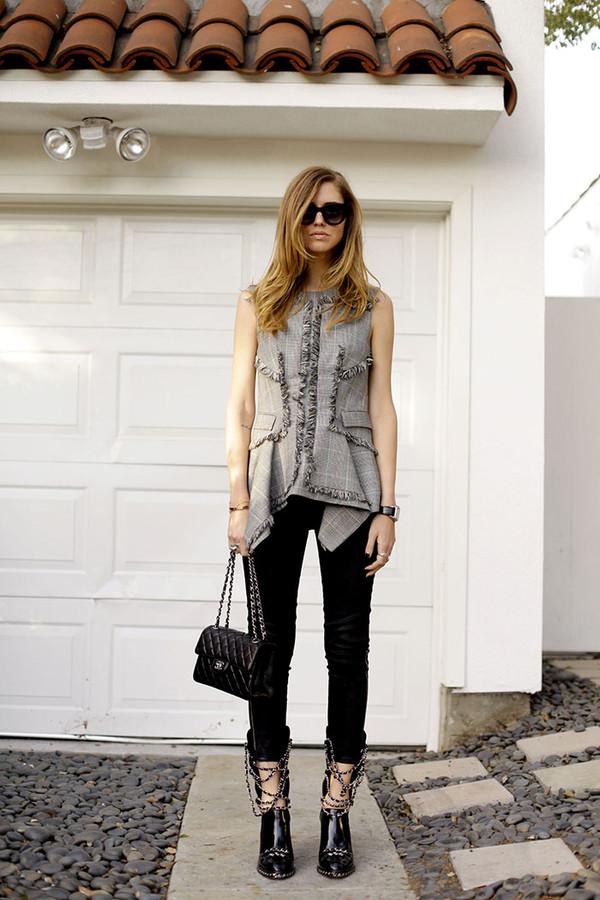 the blonde salad shoes jeans t-shirt sunglasses