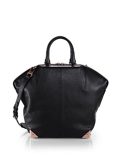 Alexander Wang - Emile Large Pebbled Leather Tote - Saks.com