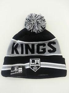 New Era Authentic Knit Pom Pom Knit Beanie The Couch NHL Los Angeles Kings | eBay