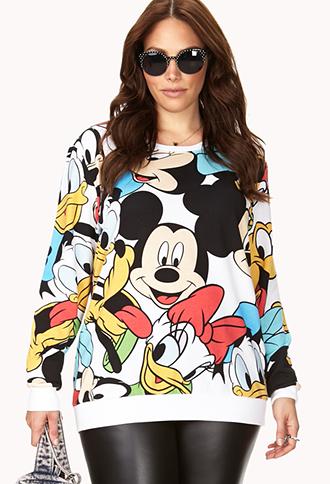 Playful Disney Character Sweatshirt | FOREVER21 - 2000127821