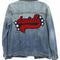 Custom knox jacket - letterman patch