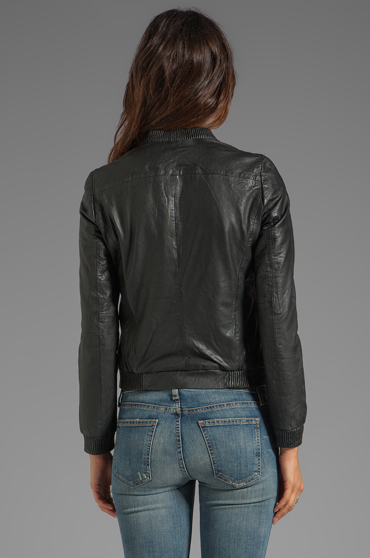 Muubaa Naniwa Blouson Jacket in Black | REVOLVE