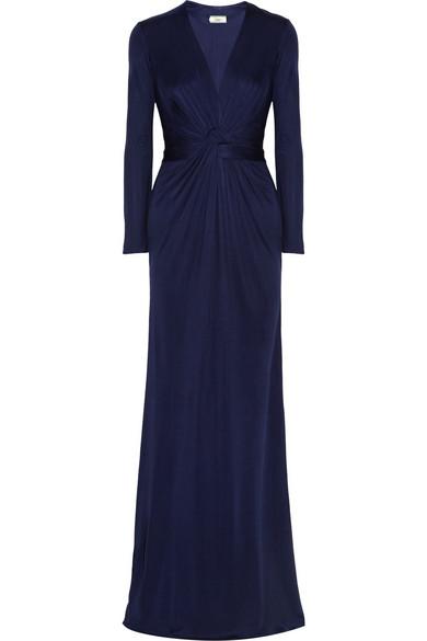 Issa Silk-jersey gown NET-A-PORTER.COM