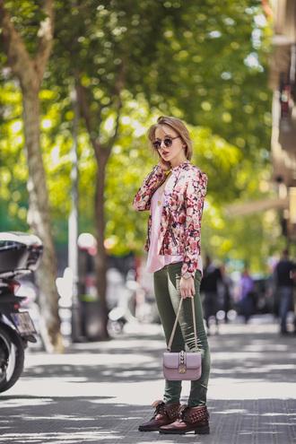cablook blogger jacket sunglasses bag top jewels
