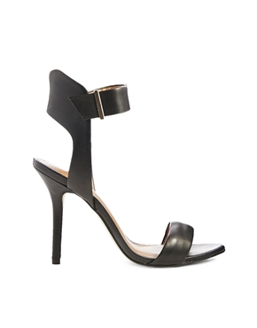Miss KG | Miss KG Eva Black Heeled Sandals at ASOS