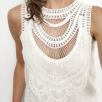 top liv blouse tank top white lace details revolve clothing revolveme revolve lace top