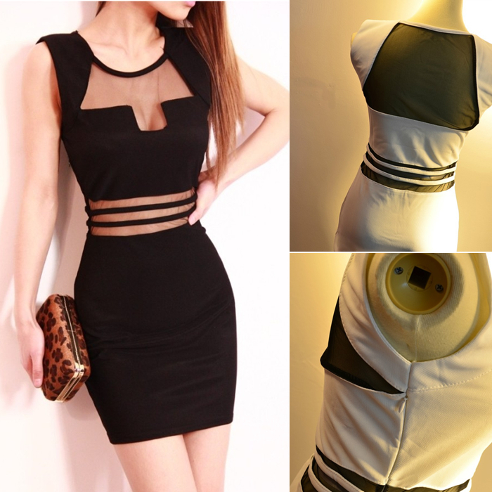 European Black White Mini Slim Hip Sexy Tube Top Dress For Clothes Women Tight Dresses New Fashion 2013 Club S M L XL F0021-in Dresses from Apparel & Accessories on Aliexpress.com