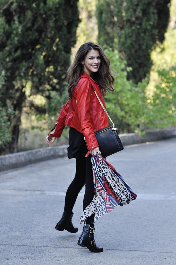 maritsa jacket pants shoes bag scarf jewels
