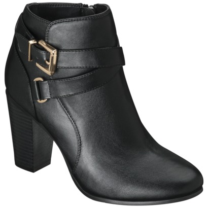Women's Merona® Kailey Ankle Boot with Buckl... : Target