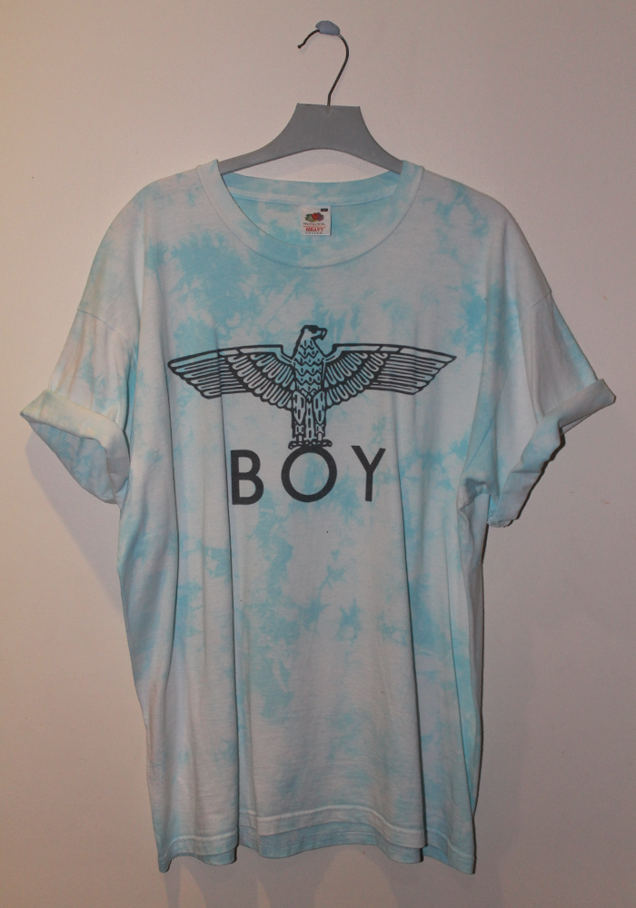 Tie Dyed Boy London T-shirt / Mount Vintage