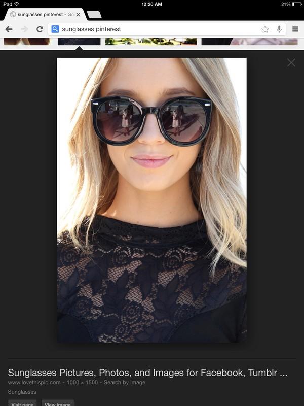 sunglasses cute black trendy