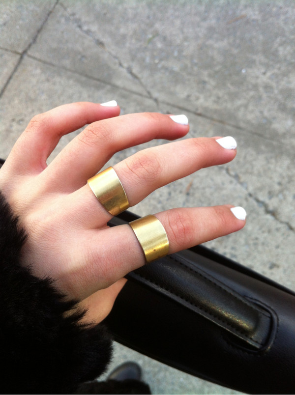 jewels ring gold style fab perf