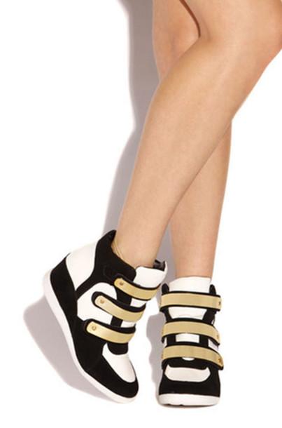 shoes sneakers wedge sneakers casual