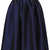 Navy Blue Taffeta Skirt - Skirts  - Clothing  - Topshop