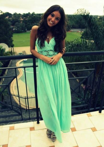 dress tumblr outfit blue dress green dress flowers flowy dress see through dress long dress style fashion preppy dress pretty woman summer dress