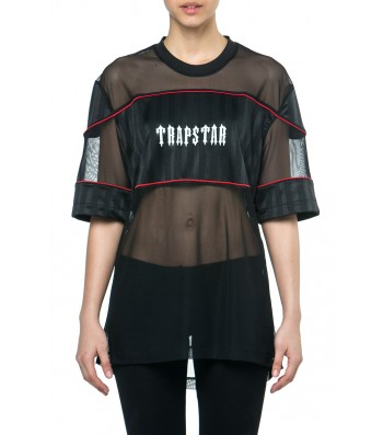 X Ray football shirt (black) - Womens  | Trapstar