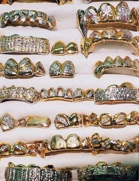 jewels grillz bling accessory dope