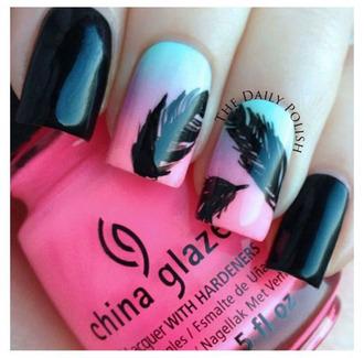 nail polish plume