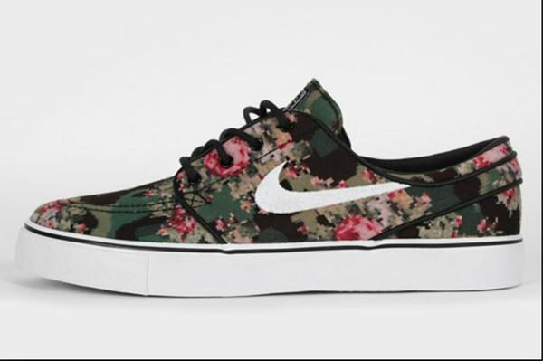 shoes nike flower sneakers