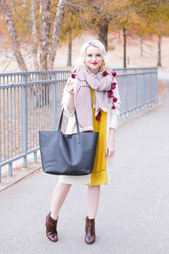 poor little it girl blogger swimwear sunglasses top t-shirt dress ankle boots tote bag yellow dress winter outfits