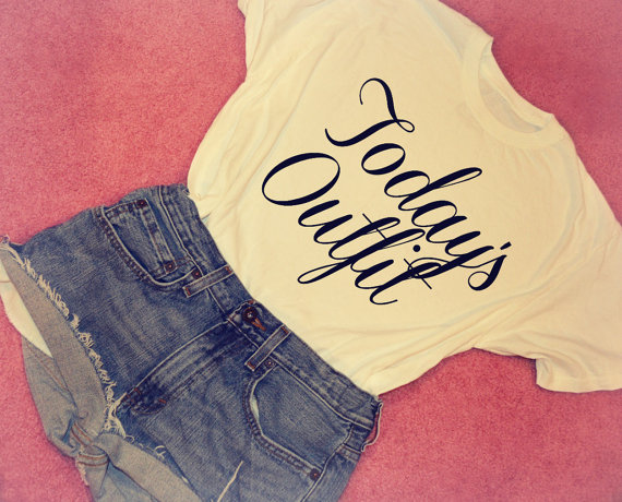 Todays Outfit TShirt by GoodBurgerTops on Etsy