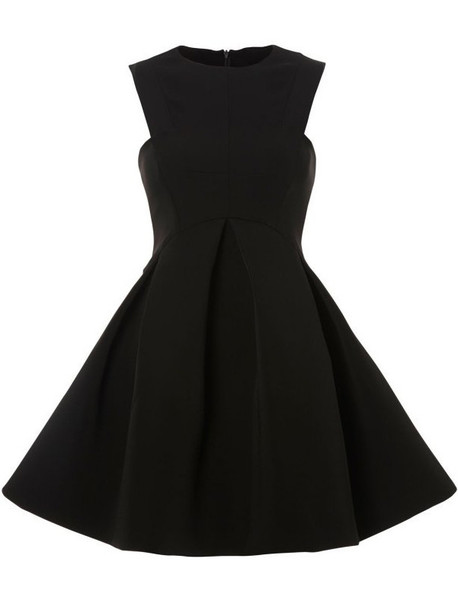 Pleata Skater Dress   Outfit Made