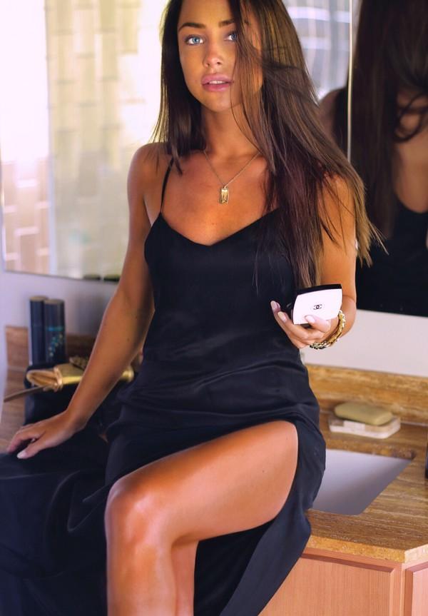 dress black dress black jewels