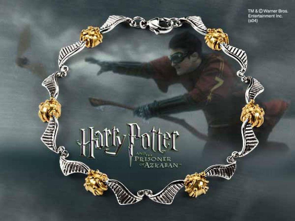 Quidditch Golden Snitch Bracelet | eBay