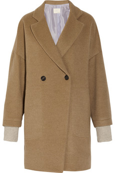 Oversized camel coat   Band of Outsiders   65% off   THE OUTNET