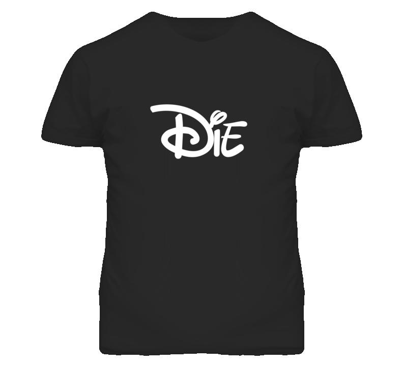 Die Popular Cartoon Movie Graphic T Shirt