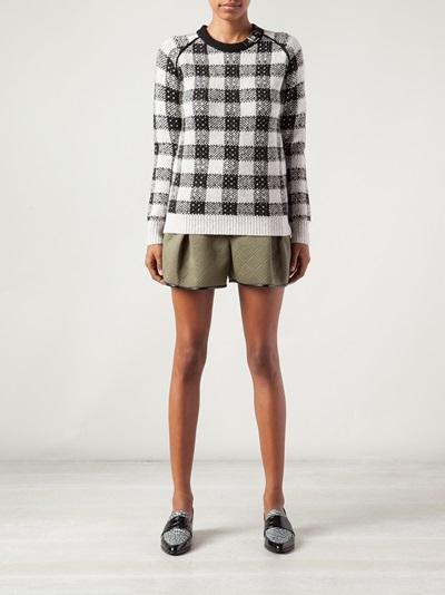 3.1 Phillip Lim Check Sweater - Knit Wit - Farfetch.com