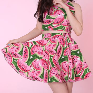 Glitters For Dinner — Made To Order - Watermelon Skirt by GFD on Wanelo