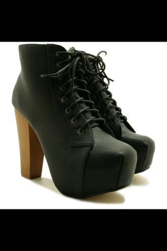 shoes jeffrey campbell lita jeffrey campbell platform shoes black high heels boots lace up