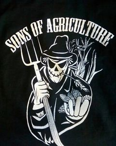 New Original Design Sons of Agriculture L s T Shirt Size L Sons of Anarchy | eBay